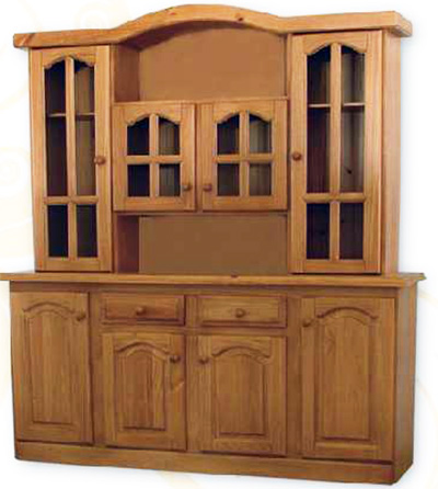 Muebleria el hogar comedor for Modulares para comedor de madera